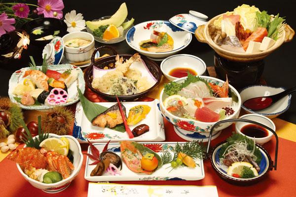 会席料理「猪名川」